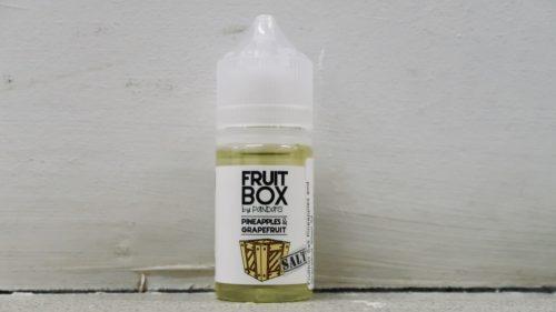 Жидкость для электронных сигарет Fruit Box Salt Pineapples and grapefruit вкусипар.рф