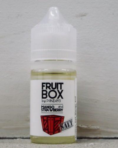 Жидкость для электронных сигарет Fruit Box Salt mango and Strawberry вкусипар.рф