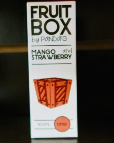 Жидкость Fruit Box Mango Strawberry вкусипар.рф