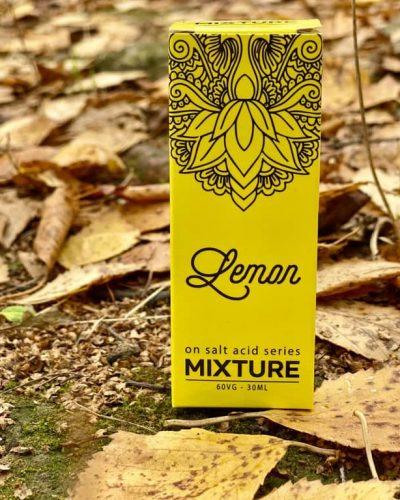 Жидкость Mixture Salt Lemon вкусипар.рф