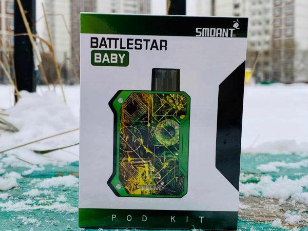Battlestar Baby Pod Kit зеленый вкусипар.рф
