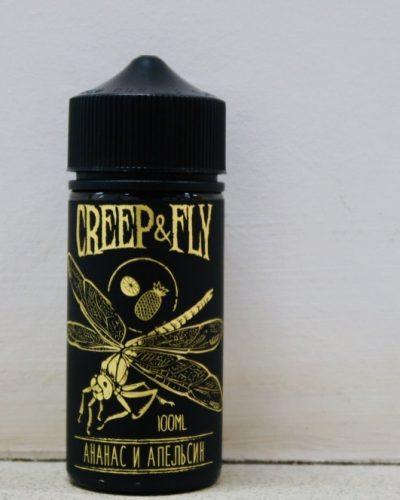 Жидкость Creep And Fly Ананас и апельсин вкусипар.рф крип энд влай купить