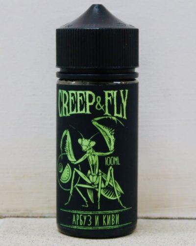 Жидкость Creep And Fly Арбуз и киви вкусипар.рф крип энд влай купить