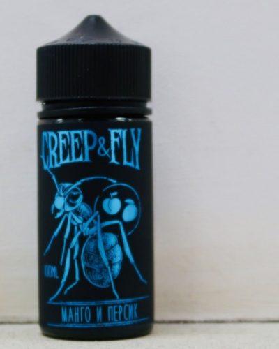 Жидкость Creep And Fly Манго и персик вкусипар.рф крип энд влай купить