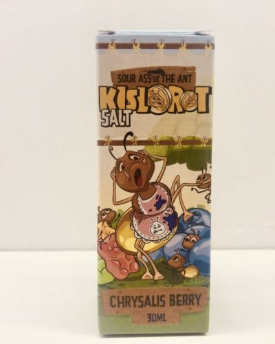 Жидкость Kislorot Salt Chrysalis Berry кислорот вкусипар.рф