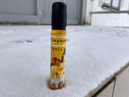 Жидкоть Overshake Salt 30 мл Cinnamon Roll вкусипар.рф