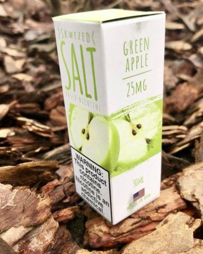 Жидкость Skwezed Salt Green Apple вкусипар.рф