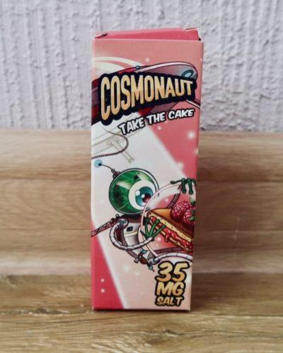 Жидкость Cosmonaut salt take The Cake вкусипар.рф космонавт пирог с малиной