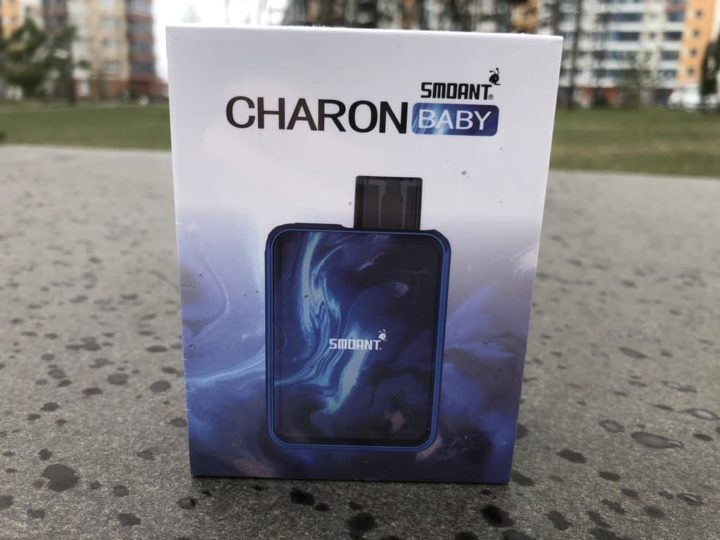 Vape Smoant Charon baby Синий вкусипар.рф