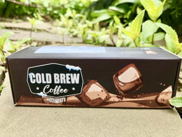 Жидкость Cold Brew Coffee Macchiato вкусипар.рф