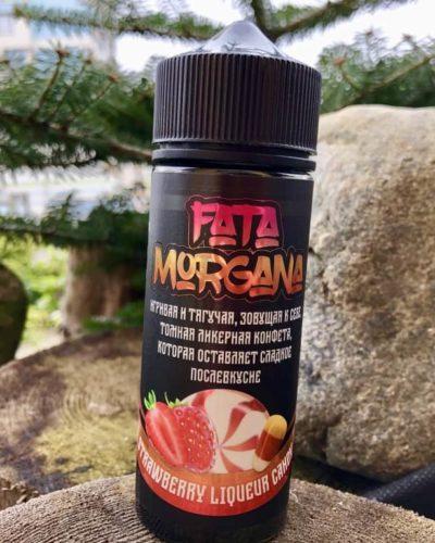 Жидкость Fata Morgana Strawberry Liqueur Candy вкусипар.рф