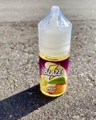 Жидкость Blaze Salt Melon Peach Pear вкусипар.рф