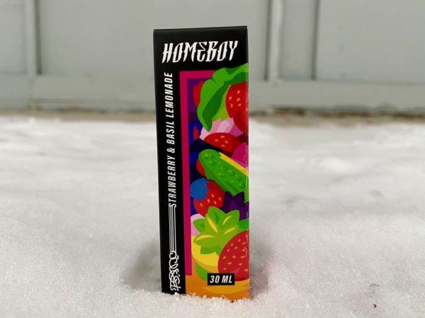 Жидкость Homeboy Salt Strawberry and Basil Lemonade вкусипар.рф