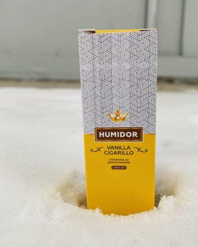 Жидкость Humidor Salt Vanilla Cigarillo вкусипар.рф