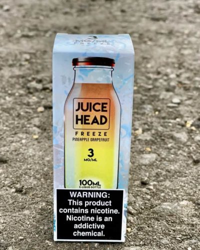 Жидкость Juice Head Freeze Pineapple Grapefruit вкусипар.рф