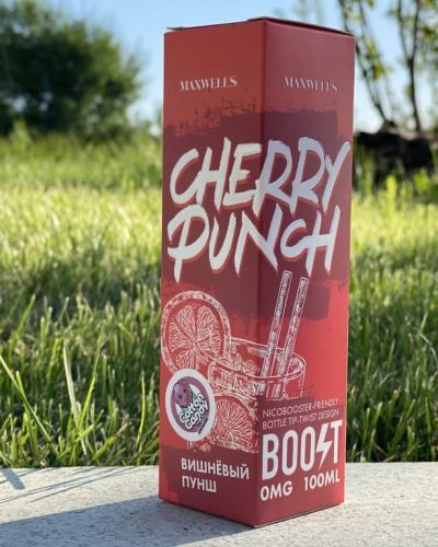 Жидкость Maxwells Cherry Punch вкусипар.рф