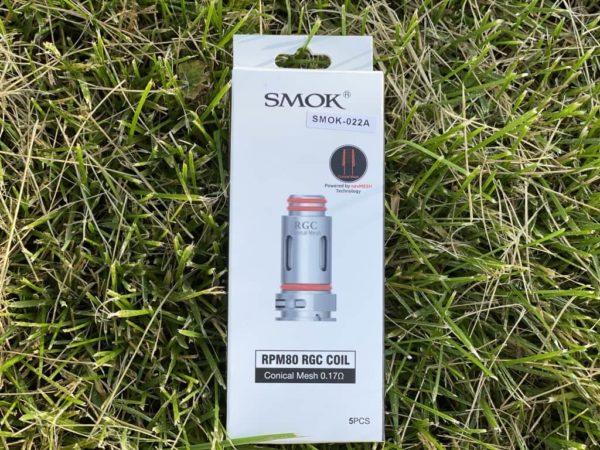 Испаритель на Smok RPM80 RGC вкусипар.рф