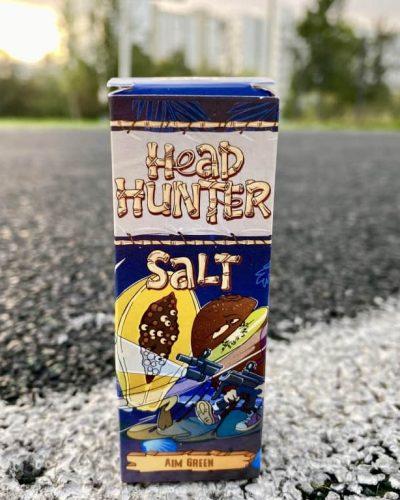 Жидкость Head Hunter Salt Aim Green вкусипар.рф