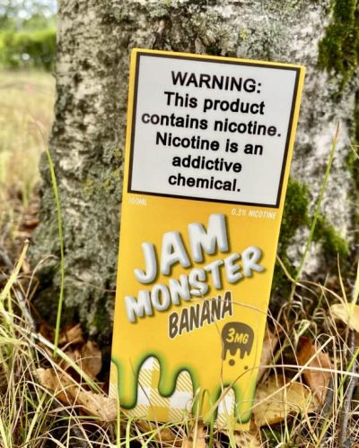 Жидкость Jam Monster Banana