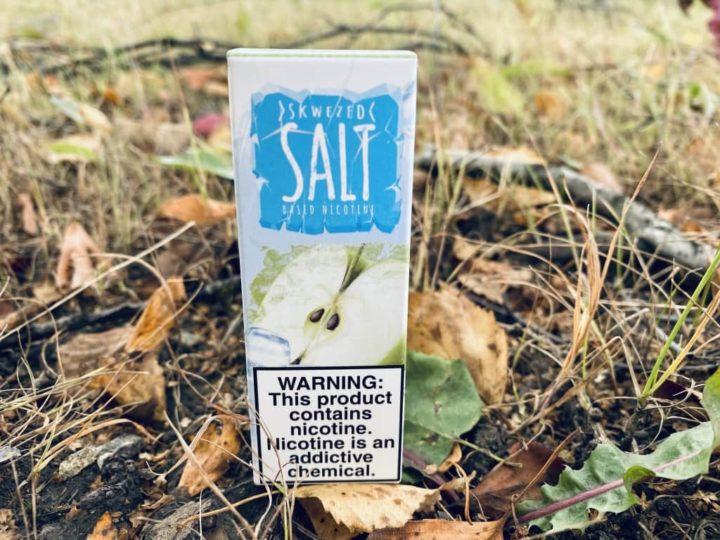 Жидкость Skwezed Ice Salt Apple вкусипар.рф