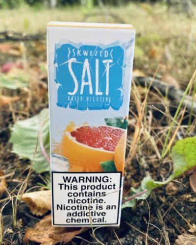 Жидкость Skwezed Ice Salt Grapefruit вкусипар.рф