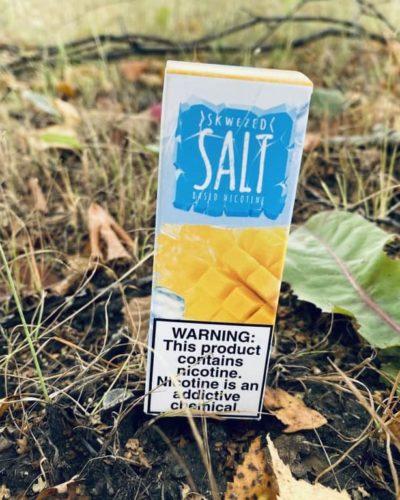 Жидкость Skwezed Ice Salt Mango вкусипар.рф