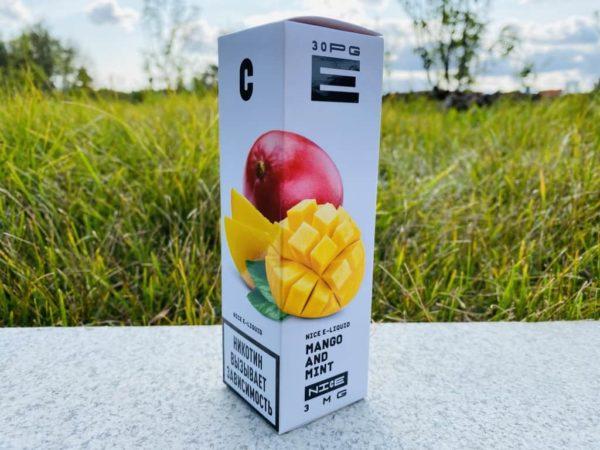 Жидкость URBN Nice Mango and Mint вкусипар.рф
