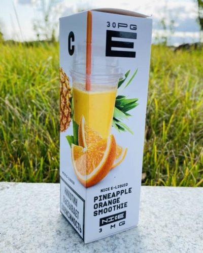 Жидкость URBN Nice Pineapple Orange Smoothie вкусипар.рф