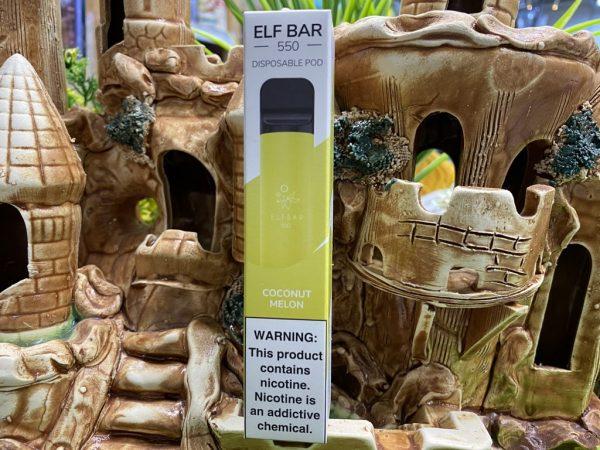 Одноразовый вейп одноразка Elf Bar 800 Coconut Melon вкусипар.рф