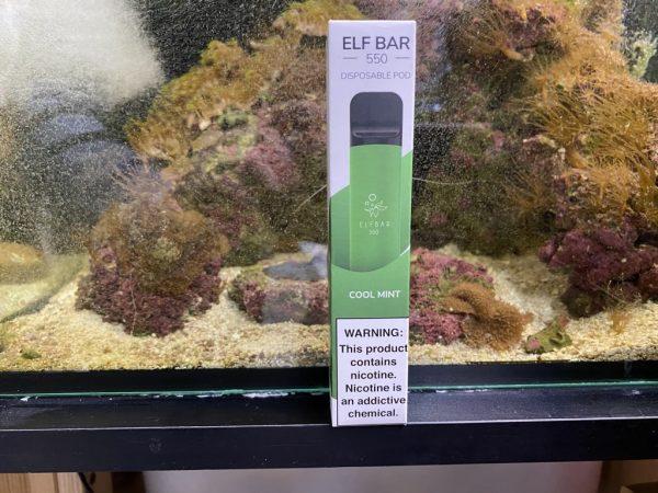 Одноразовый вейп одноразка Elf Bar 800 Cool Mint вкусипар.рф