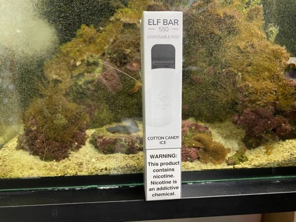 Одноразовый вейп одноразка Elf Bar 800 Cotton Candy Ice вкусипар.рф