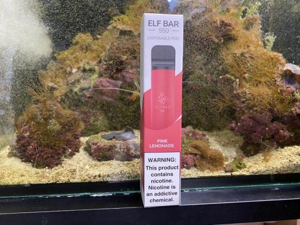 Одноразовый вейп одноразка Elf Bar 800 Pink Lemonade вкусипар.рф