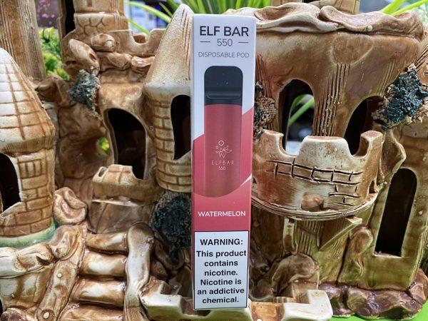 Одноразовый вейп одноразка Elf Bar 800 Watermelon вкусипар.рф