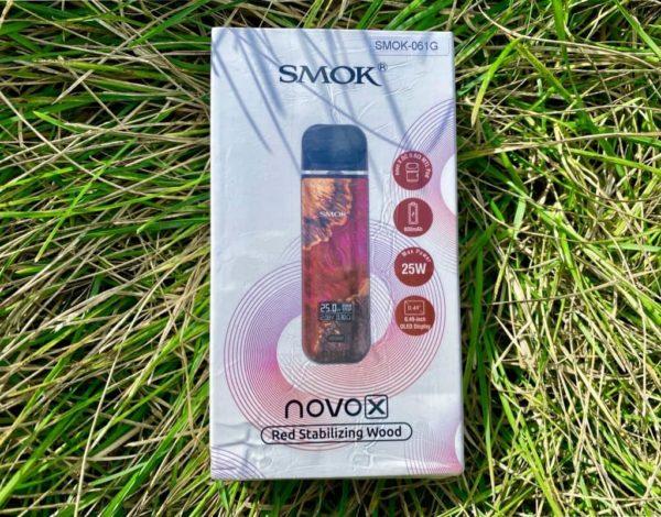 Smok Novo X Red Stabilizing Wood вкусипар.рфSmok Novo X Red Stabilizing Wood вкусипар.рф