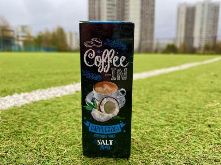 Жидкость Coffee-in Cappuccino вкусипар.рф