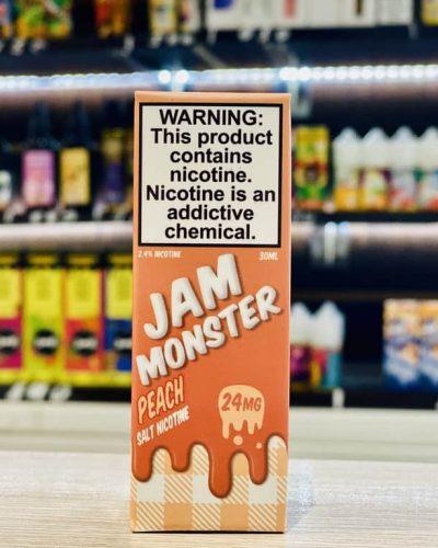 Жидкость Jam Monster Salt Peach вкусипар.рф