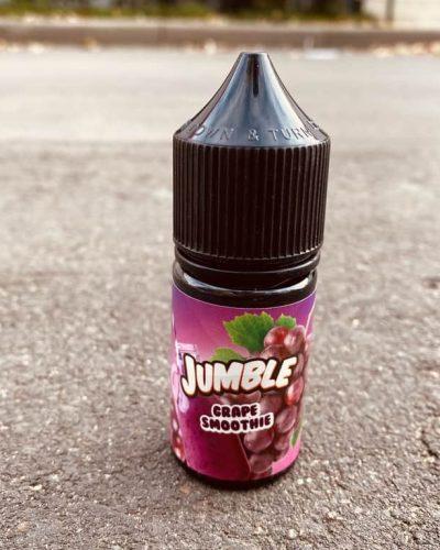 Жидкость Jumble Salt Grape Smoothie вкусипар.рф