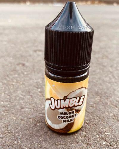 Жидкость Jumble Salt Melon Coconut Milk вкусипар.рф