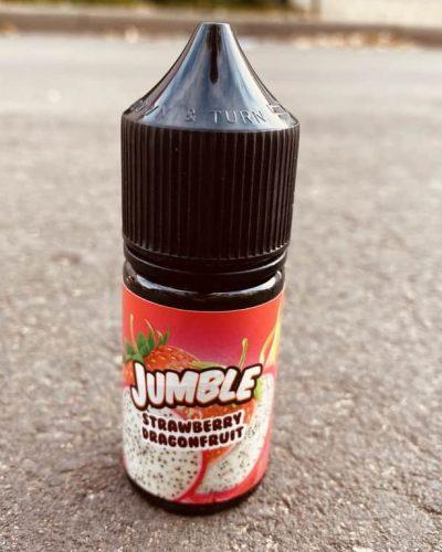 Жидкость Jumble Salt Strawberry Dragonfruit вкусипар.рф