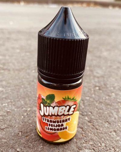 Жидкость Jumble Salt Strawberry Feijoa Lemonade вкусипар.рф