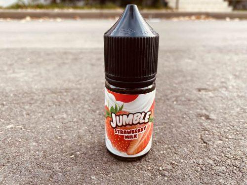 Жидкость Jumble Salt Strawberry Milk вкусипар.рф