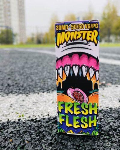 Жидкость Monster Salt Fresh Flesh вкусипар.рф