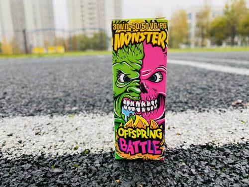 Жидкость Monster Salt Offspring Battle вкусипар.рф