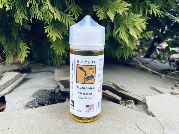 Жидкость Element 555 Tobacco вкусипар.рф