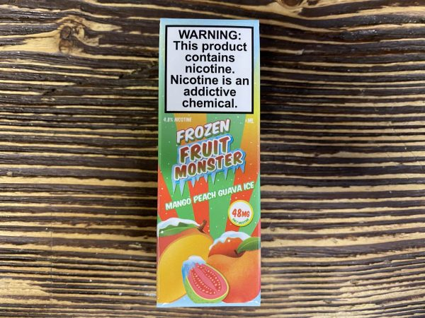 Жидкость Frozen Fruit Monster Ice Mango Peach Guava Ice вкусипар.рф