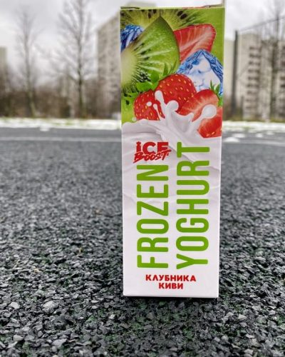 Жидкость Frozen Yoghurt Клубника Киви вкусипар.рф