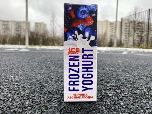 Жидкость Frozen Yoghurt Черника Лесные ягоды вкусипар.рф
