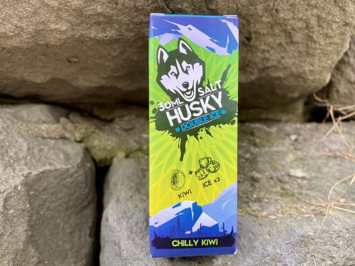 Жидкость Husky Salt Double Ice Chilly Kiwi вкусипар.рф