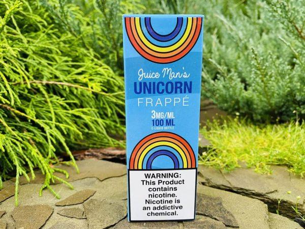 Жидкость Juice man Unicorn Frappe вкусипар.рф