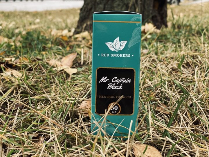 Жидкость Red Smokers Mr. Captain Black Menthol Tobacco вкусипар.рф